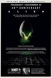 Alien - 40th Anniversary - 11/21 @ 8:00 PM