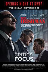 The Irishman - 11/20 @ 5:00 PM